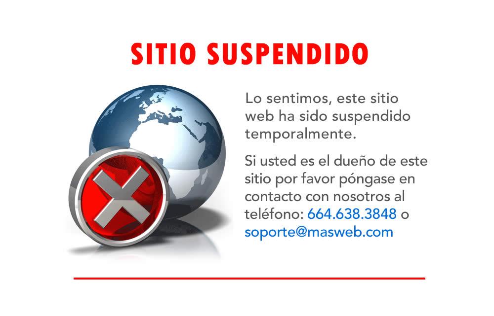 Sitio suspendido comunicarse al 6646383848